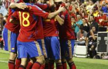El fútbol de España venció a la necesidad de Escocia (3-1)