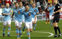 España agota el Diccionario con una exhibición de fútbol ante Venezuela (5-0)