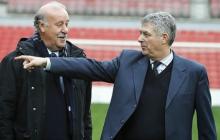Del Bosque cree que sería bueno que Villar siguiera al frente de la Federación