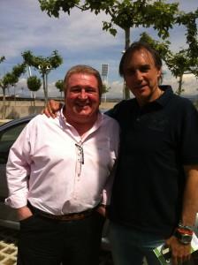 Con Miguel Ángel Portugal.
