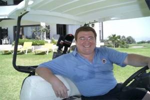 En el Parador Nacional del Golf en Málaga, en la puerta de la habitación 116